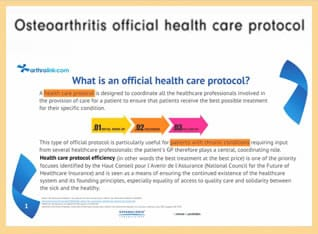 Osteoarthritis Official Health Care Protocol