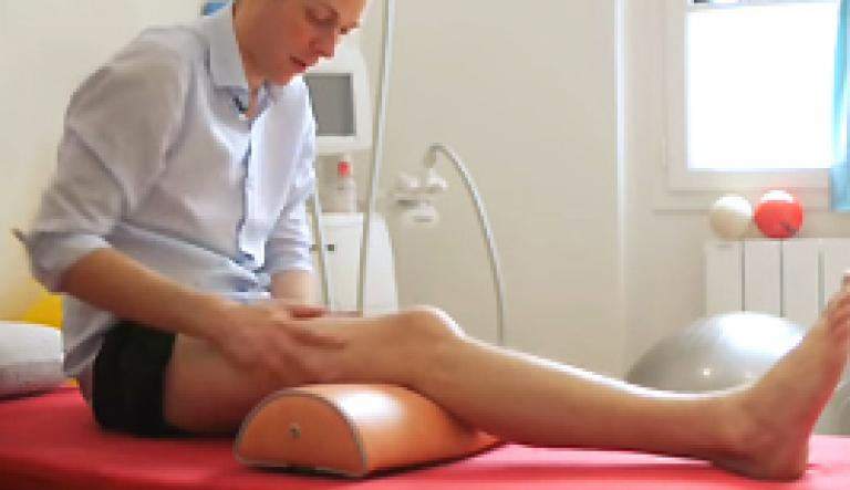 Gonarthrosis: self-massage knee
